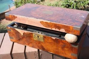 Antique Wall nut veneer repairs